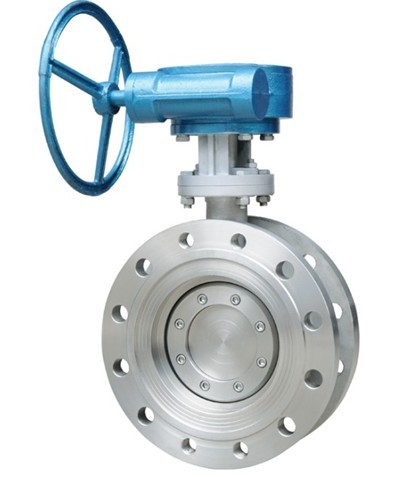 Two-way pressure butterfly valve